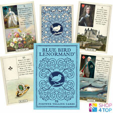 BLUE BIRD LENORMAND ORACLE CARDS DECK STUART KAPLAN ESOTERIC TELLING ASTROLOGY