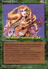 Titanias Lied (Titania's Song) Magic limited black bordered german beta fbb fore