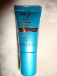 Boots No 7 Protect & Perfect Intense Advanced Serum 5ml 0.16 Fl Oz Brand New