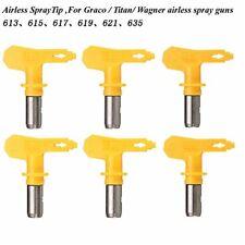 EsportsMJJ Airless Pistola Spray Suggerimenti 6 Serie 13-35 Per Wagner (J4e)