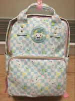 Cute Cinnamoroll Dog Backpack PU Leather Schoolbag Teenage Shoulder Travel Bag