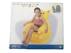 Index Inflatables Kids Happy Animal Chair Fun Play Relax 65x64x74cm