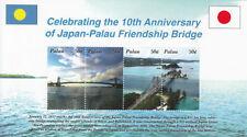 Palauan Sheet Architecture Postal Stamps