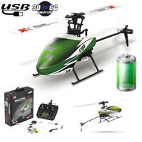RC Helicopter XK K100 6CH 3D 6G System RTF Built-In Gyro Super Stable Flight