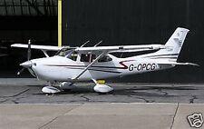 Cessna 182 Skylane Wood Airplane Model Small
