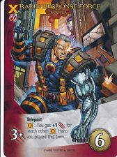 CABLE 2014 Upper Deck Marvel Legendary RAPID RESPONSE FORCE