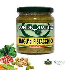 Ragù al Pistacchio, specialità artigianale siciliana - Condiquattro