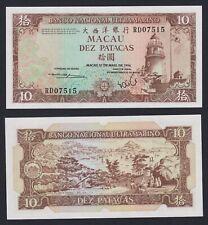 New listing Macau / China/Portugal 10 Patacas 1984 Fds / Unc B-09