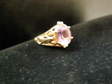 Nice new and have 5.5 gr 14 kt yellow pure gold Women ring size  8.5