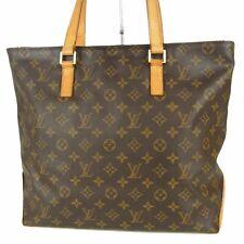 Auth LOUIS VUITTON M51151 Monogram Cabas Mezzo Tote Hand Bag France 16419bkac