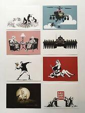 Banksy Postcards Set A