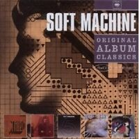 SOFT MACHINE - ORIGINAL ALBUM CLASSICS 5 CD++++++++++++++++ NEU