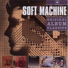 SOFT MACHINE - ORIGINAL ALBUM CLASSICS 5 CD++++++++++++++++ NEU
