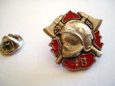 PINS RARE FIREMAN HELMET CASQUE DE POMPIER
