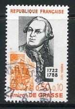 STAMP / TIMBRE FRANCE OBLITERE N° 1727 AMIRAL DE GRASSE