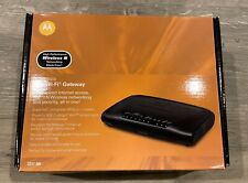 Motorola 2247-N8 10/100 Wireless N Router (579765-004-00)