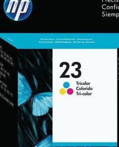 Genuine HP 23 - Tri Color Ink Cartridge