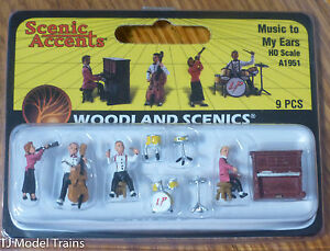 Woodland Scenics #1951 Music to My Ears - Scenic Accents (HO Scale)