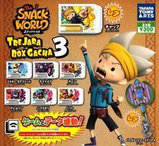 Snack World Trejara Box Gacha 3 Complete Set of 8 Capsule Toys