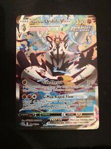 Rapid Strike Urshifu VMAX - Battle Styles - Secret Rare - 170/163 - Alternate