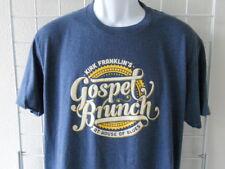 Kirk Franklin's GOSPEL BRUNCH At The House of Blues - Men's L T-Shirt Blue - NWT
