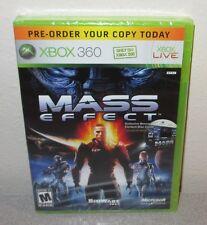 MASS EFFECT 2007 Pre-Order Bonus Disc SEALED NEW XBOX 360 BioWare RPG ARPG EA