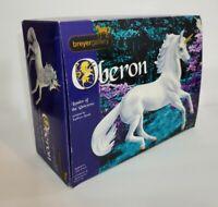 BREYER GALLERY LIMITED EDITION #8132 OBERON UNICORN FINE PORCELAIN DAMAGED MOODY