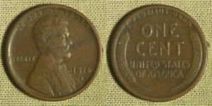 Lincoln Cent: 1914-S VF-XF toning IRUS246