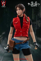 SWtoys FS023 1/6 Resident evil Claire 2.0 Female Action Figure Model Toy