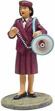 Del Prado 1/32 Figure Fire prevention agent +megaphone Tokyo 2000 BOM030