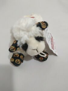 """MultiPet The Lamb Chop The Legend 7"""" Squeaky Halloween Pumpkin Print Dog Toy NWT"""