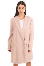 RRP €350 HUGO HUGO BOSS Blazer Jacket Size 44 Crumpled Effect Double Breasted