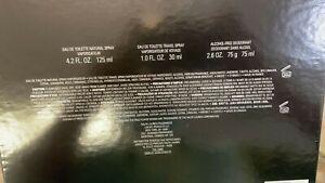 Polo Black Men 3 Pcs Gift Set-125ml EDT Spray+30ml EDT Spray+75ml Deodorant