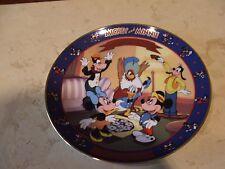 Bradford Exchange Disney - Mickey'S Birthday Party - Mickey & Minnie Plate -
