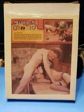 Vintage XXX 8mm Adult Erotic Film Swedish Erotica Hot Tub in Color