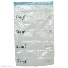 More details for 2 vacuum storage bag extra large 60cm x 40cm - by russel new