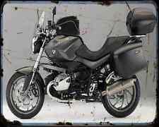 Bmw R 1200R 11 5 A4 Metal Sign Motorbike Vintage Aged