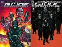 G.I. Joe: Rise of Cobra - Official Movie #1-2 (2009) IDW Comics - 2 Comics