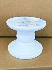 Bath & Body Works Marble Pedestal Candle Holders Roman Architecture NEW