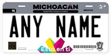 Michoacan Mexico Any Name Number Personalized Novelty Auto Car License Plate C04