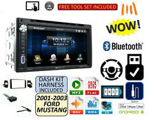 FORD MUSTANG 01 02 03 Dvd AUX TOUCHSCREEN Bluetooth USB Stereo Kit