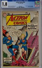 ACTION COMICS #252 CGC 1.8 SUPERMAN 1ST SUPERGIRL METALLO