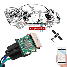 Hidden Car Tracking Relay GPS Tracker Anti-theft Phone APP Text Kill Fuel Pump 1