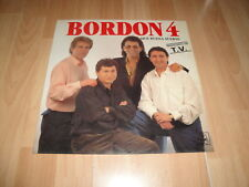 BORDON 4 QUE BUENA SUERTE LP DE VINILO VINYL DEL AÑO 1991 EN BUEN ESTADO