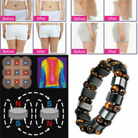 Elastic Black Magnetic Therapy Energy Bracelet Men Health Care Weight Loss Gift