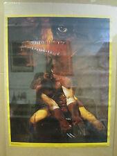 vintage Wolverine 1989 Marvel Poster original poster  2528