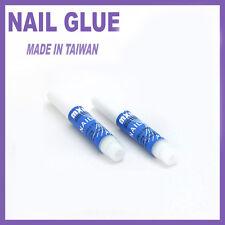 2 x 2g Nail Glue Nails Adhesive (for Acrylic or False Nails Tips) Nail Art