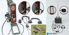 Dragon Dreams DID 1/6 WW II Allemand Wolfram Radio Casque gorge Mikes A-frame