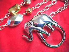 ID KEY LANYARD- LUCKY ELEPHANT RIGHT FOOT FORWARD