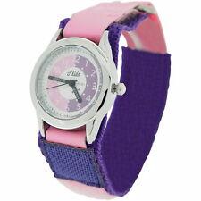 Profesor de tiempo de Niños Rosa/Púrpura Niños Niñas reloj para fácil fijar + Premio Relda
